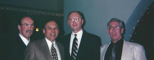 John Herzog, Jay Erlichman, Kevin Foley, Martin Gengerke at Memphis Show