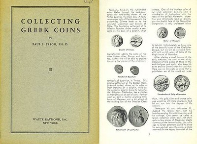 Szego Collecting Greek Coins 1937