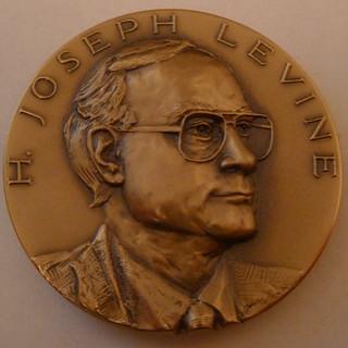 Joe Levine TAMS medal obverse