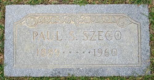 Paul S. Szego tombstone