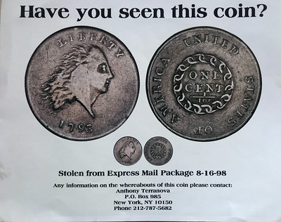 Missing Sheldon-3 1793 Chain cent ad