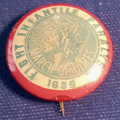 March of Dimes pin 1939