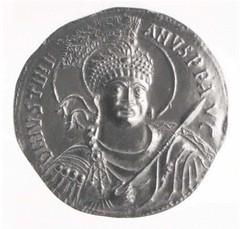 36-aureus of Justinian I electrotype