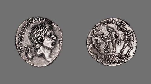 Denarius of Pompey the Great