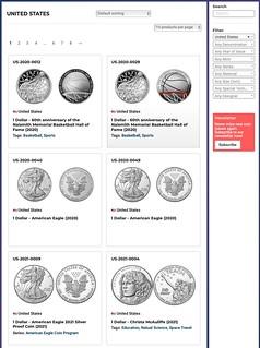 Cosmos Sample page USA01