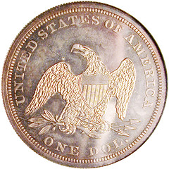 DuPont 1866 NM Dollar - rev