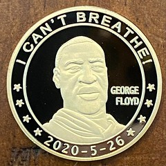 George Floyd coin obverse