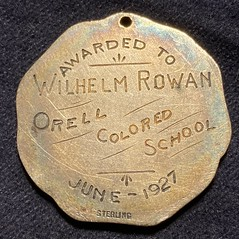 Orell Colored School medal reverse