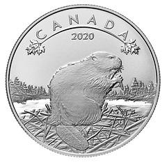 2020 O Canada! Beaver Coin