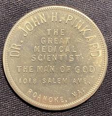 Dr. John H. Pinkard token reverse