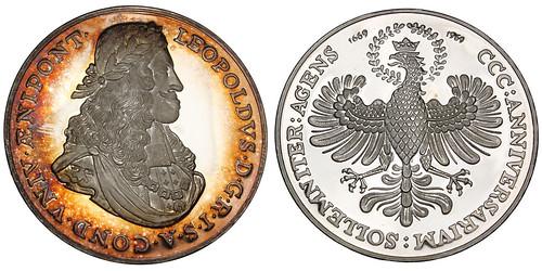 Leopold I University of Innsbruck silver Medal