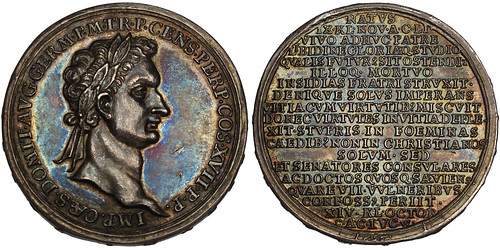 1696 Domitian silver Medal