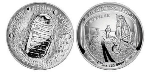 2019 Apollo 11 coin of the year