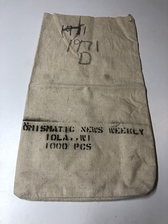 Numismatic News 1000PC coin bag front