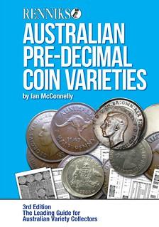Australian Pre-Decimal Coin Varieties 3rd ed book cover