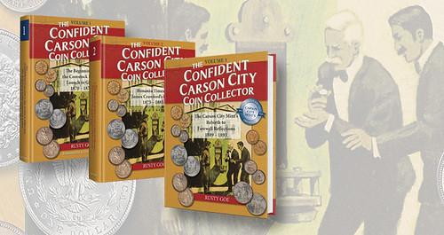 Confident Carson City Collector volume1-2-3-cover