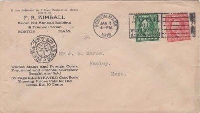 F. R. Kimball envelope