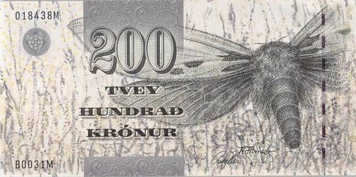 2003 Faeroe Islands 200 Kronur