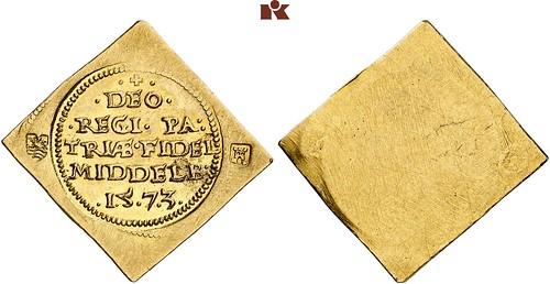 1573 Gold Klippe 1 Krone
