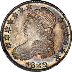 1829 Bust Half obverse