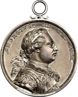 1773 Carib War Medal obverse