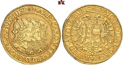 Holy Roman Empire Rudolf II 10 Ducats
