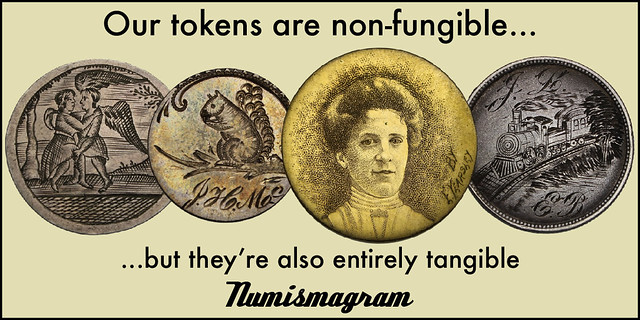 E-Sylum Numismagram ad42 non-fungible tokens