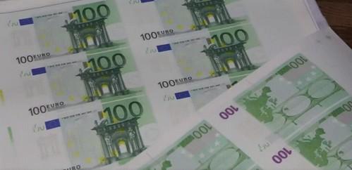 Counterfeit 100 Euro notes seized in Bulgaria