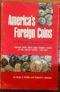 Americas Foreign Coins book cover