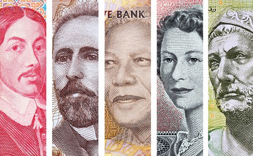 Faces on World Banknotes