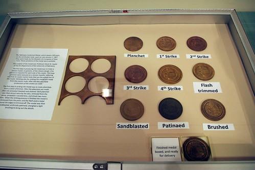 John J. Garrarron 1967 Nebraska Centennial medal process set exhibit