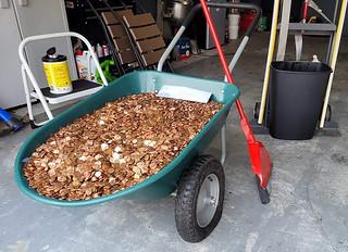 greasy penny wheelbarrow