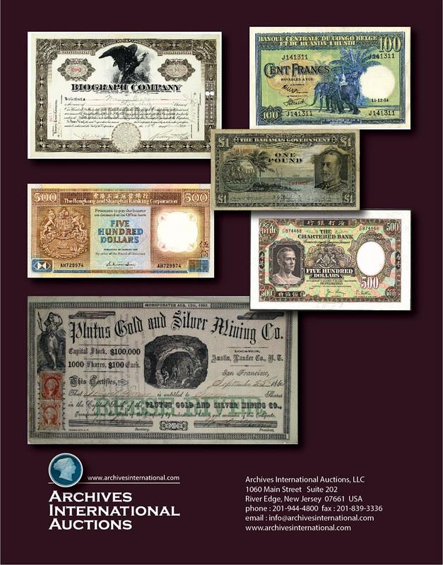 Archives International Sale 66 cover back