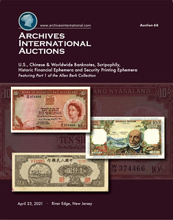 Archives International Sale 66 cover front