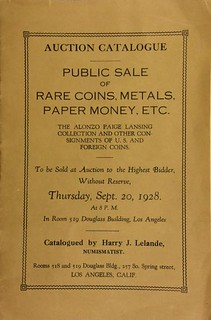 Harry Lelande Auction Catalog cover