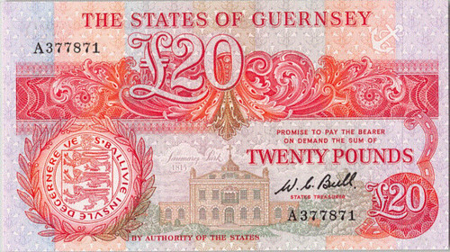 Guernsey 20 Pounds