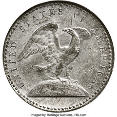 1792 Eagle-on-Globe Quarter Pattern reverse