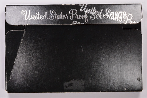 Off-Center Double-Printed 1978-S Proof Set Box