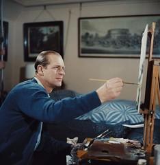 Prince Philip, painter