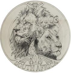 Natanya Van Niekerk South Afrtica lion design