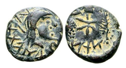 mauretania coin of Bocchis I