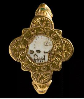 Wales skull ring