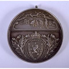 1908 Birmingham Curling Club Medal obverse