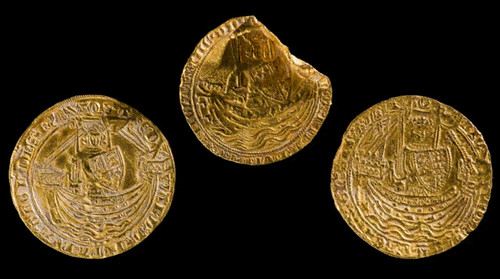 Wales find gold nobles