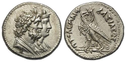 Ptolemy IV Philopator Tetradrachm
