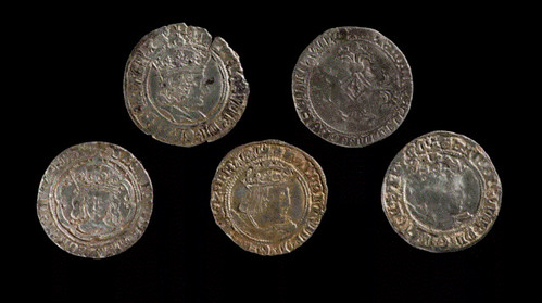 Wales find Tudor silver coins