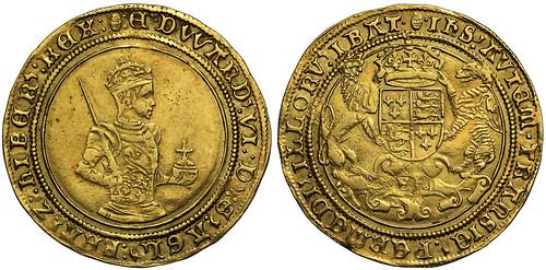 SOVR sale 3 lot 028 Tudor Edward VI gold Sovereign
