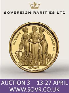 Sovereign Rarities E-Sylum ad Auction 3