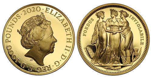 SOVR sale 3 lot 182 Elizabeth II gold One Kilo Three Graces