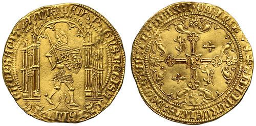 SOVR sale 3 lot 012 Edward the Black Prince Guyennois D'Or